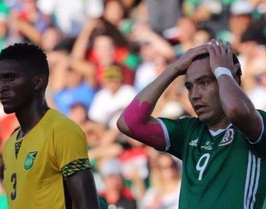 Mexico eliminado por jamaica