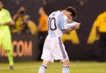 Argentina con un pie fuera del Mundial Rusia 2018