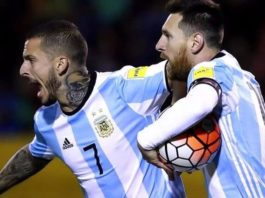 Argentina logra su pase directo al Mundial de Rusia