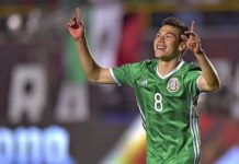 México gana 3-1 a Trinidad y Tobago