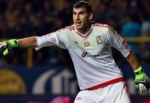 Nahuel Guzman en la lista de Argentina